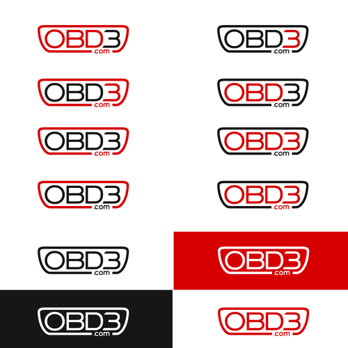 modern logo for vehicle control-unit reprogramming tool company Logo and WEB template