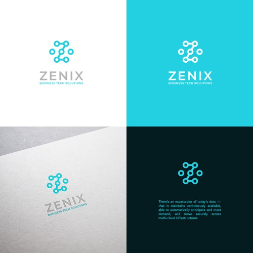 Logo for business tech solutions company