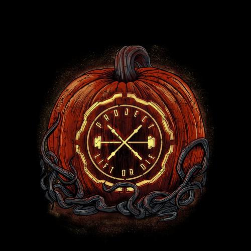 Logo Halloween Theme TSHIRT design