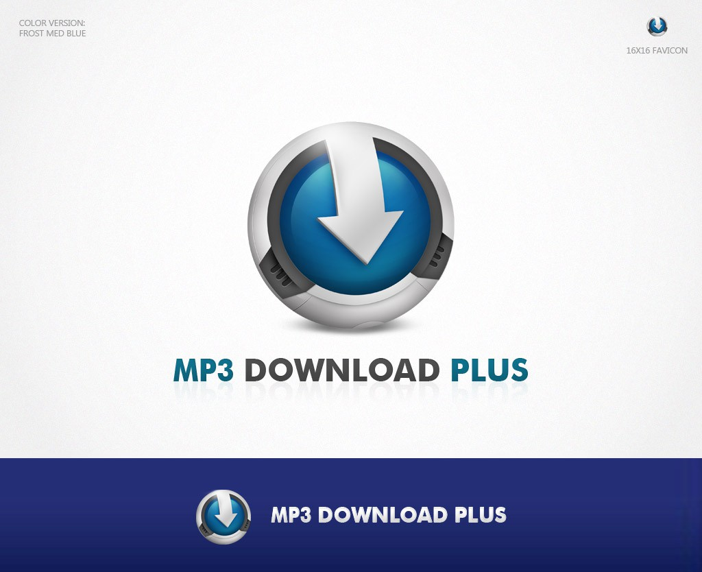 Help MP3 Download Plus with a new logo