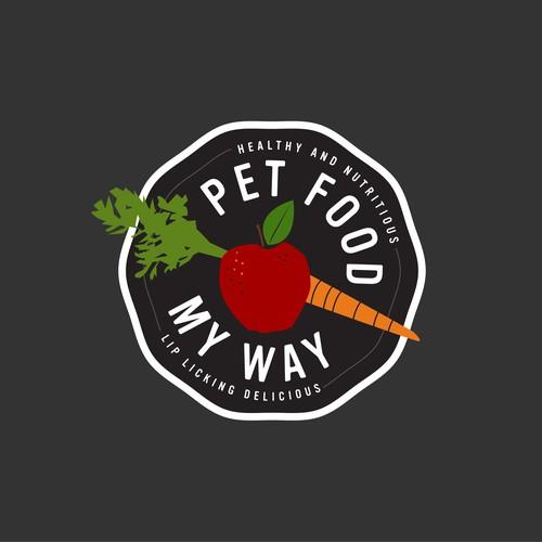 Pet Food My Way Logo Concept