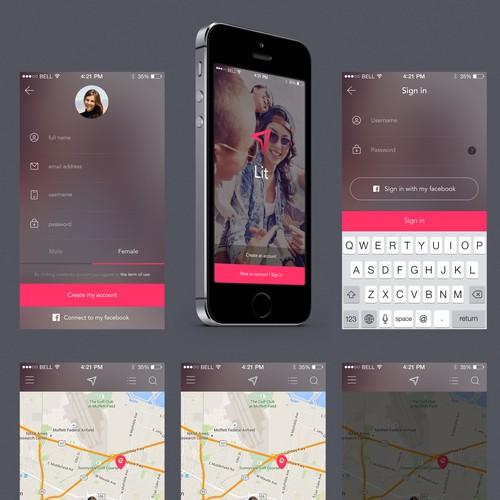 Lit social apps