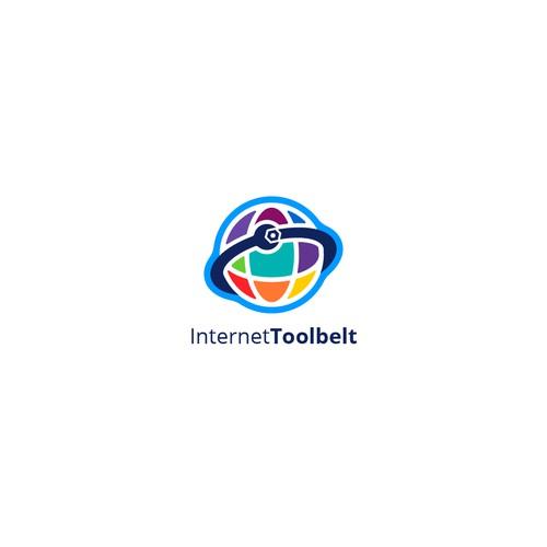 Crisp and clean logo for Internet Toolbelt