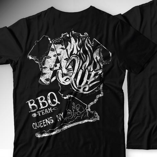 T-shirt Design for A-Que Team BBQ