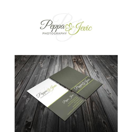 Newborn photographer seeking logo and business card