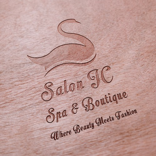 Logo concept for a beauty salon.