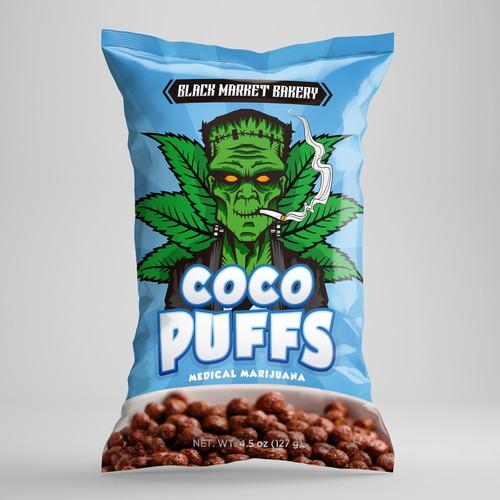 Mocha Munchies, cereal medicado con marijuana.