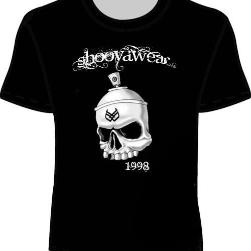 Shooÿa wear  needs a new t-shirt design