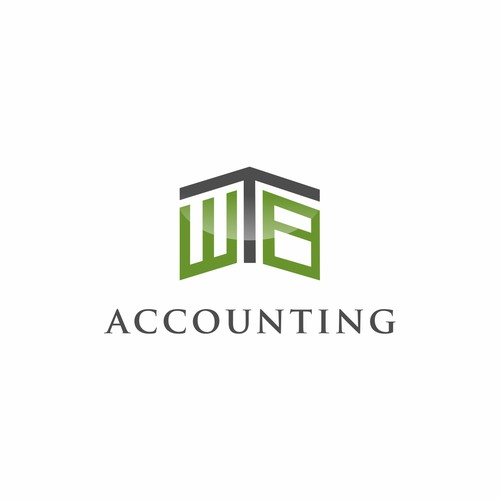 Create a modern logo design for a small Accounting and Finance services firm.