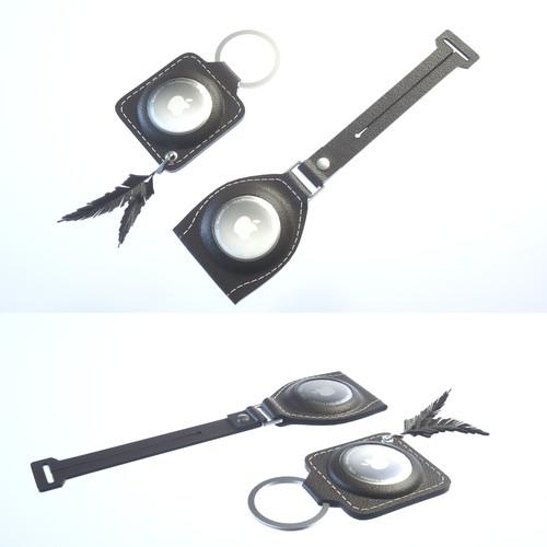Design Apple AirTag Key Ring