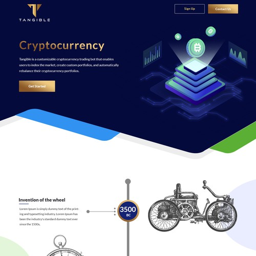 Cryptocurrency platform