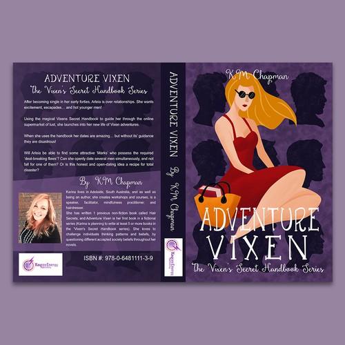 Book cover for erotic adventure
