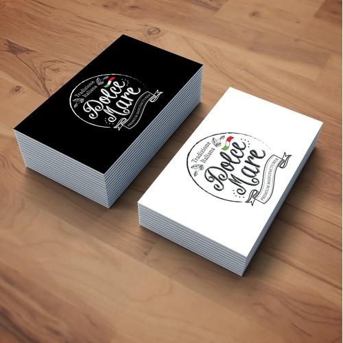 dolce mare logo design