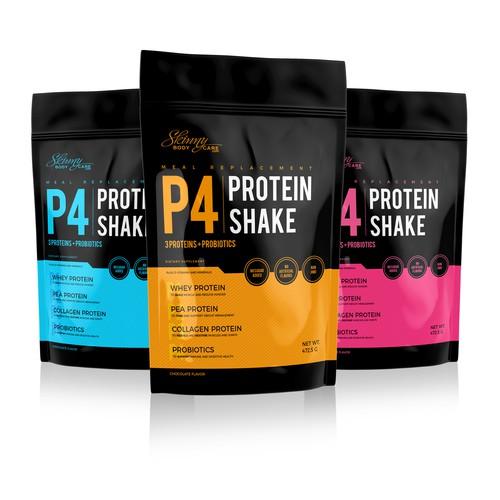 Protein Shake design proposition