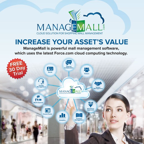 Banner Design for ManageMall.com