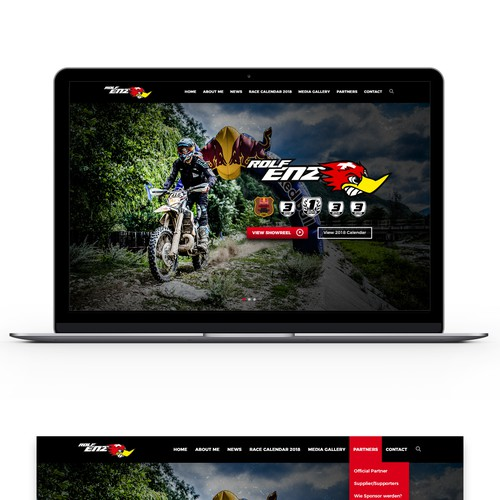 Web Design & Build For Rolf Enz