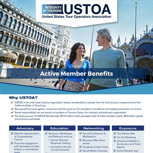 Flyer Describing Member Benefits
