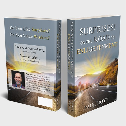 Book cover 'SURPRISES ON THE ROAD TO ENLIGHTENMENT'