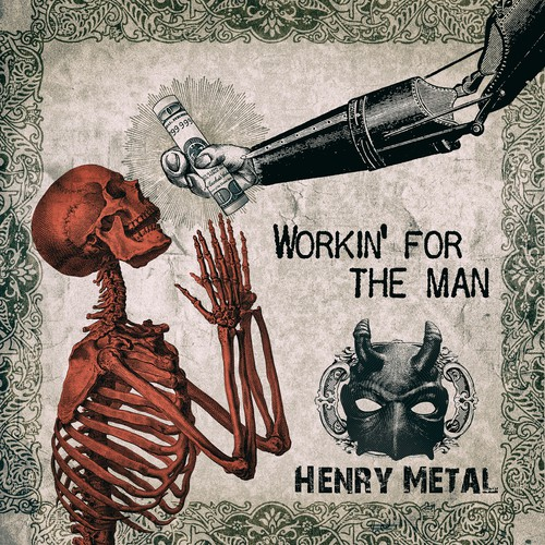 Henry metal cover design
