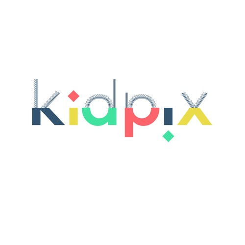 KIDPIX logo for kids clothes subscription box