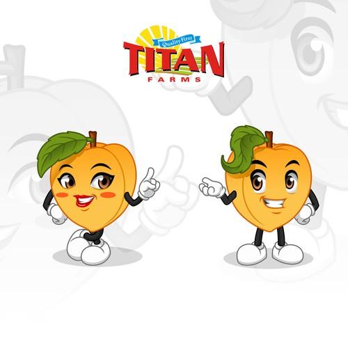 Mascot Design for Titan Farms
