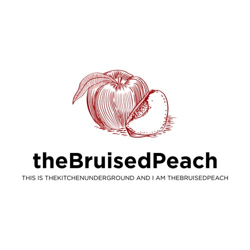 the bruised peach
