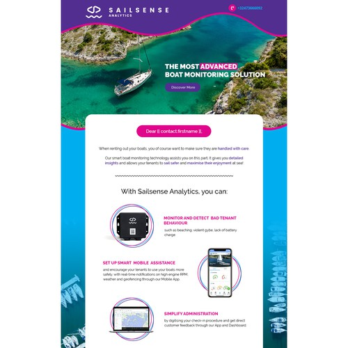 Email Template for Sailsense