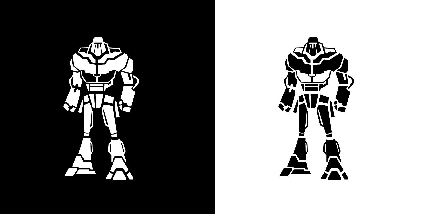 Make Us a BADASS Robot Icon/Logo!