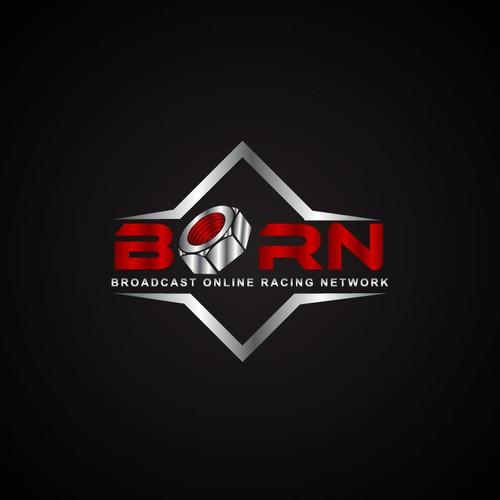 Bold logo for Motorsports Game!