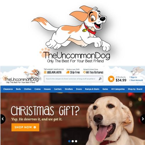 Create a Capturing Dog Illustration / Logo for TheUncommonDog.com