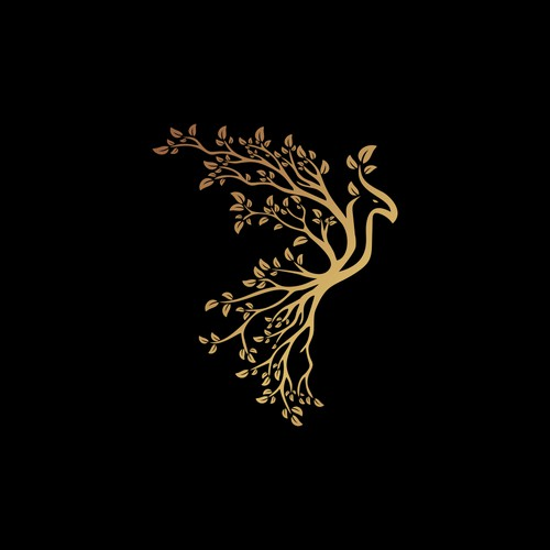 pheonix and tree