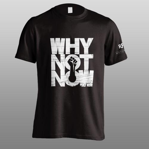 Motivational t shirt design