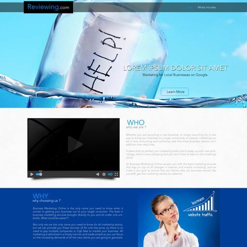 Webdesign for Reviewing.com Guaranteed