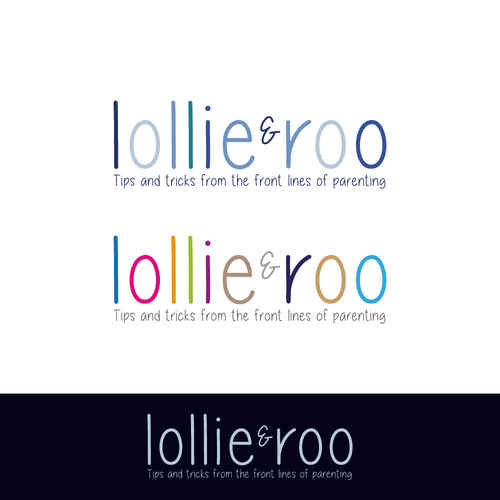 Create a Hip Logo for lollie and roo a lifestyle brand for modern day parents