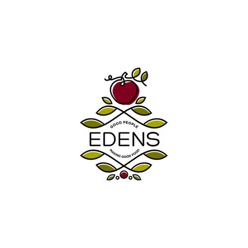 Unique logo for Edens