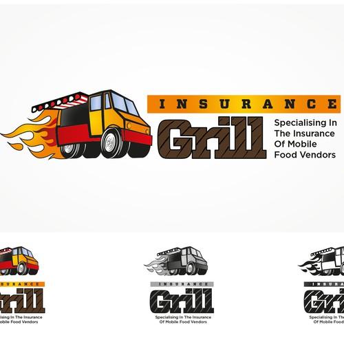 Cool & mean  looking food van logo required