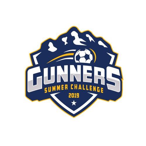 Logo for Gunners Summer Challenge 2019