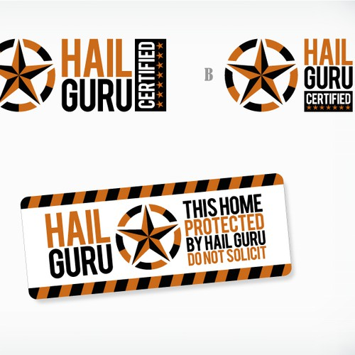 Create the next logo for HAIL GURU