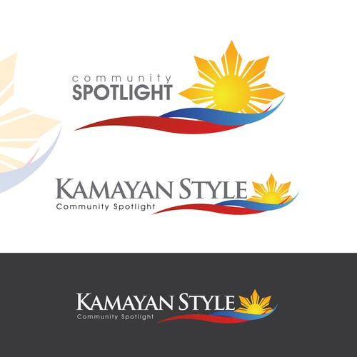 Create the next logo for Kamayan Style