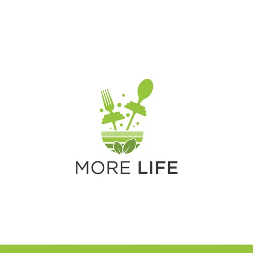 MORE LIFE - Fitness Food Logo Contest