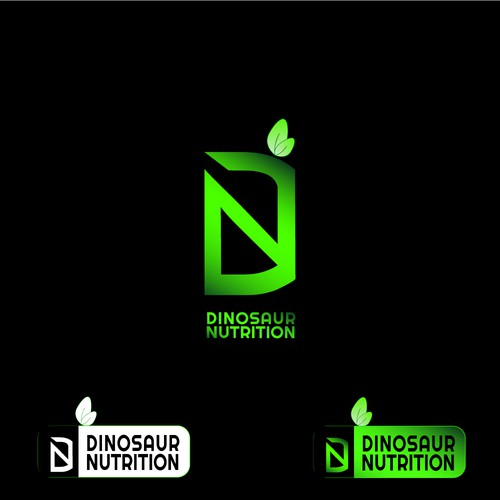 A LOGO FOR SUPPLEMENT AND FITNESS COMPANY DINOSAUR NUTRITION