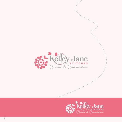 Kelley Jane Stitches Logo