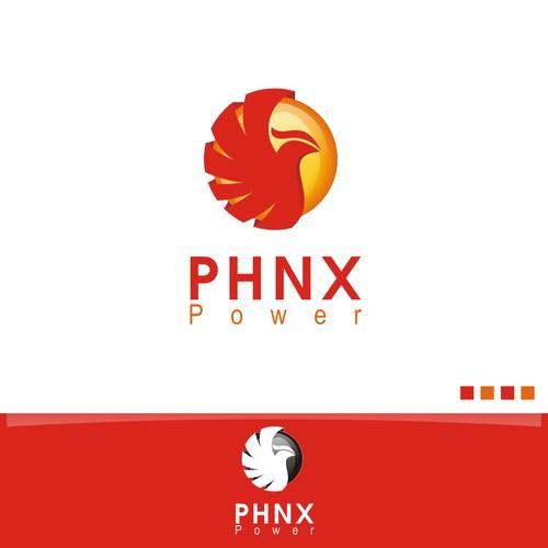 Design Logo PHNX Power