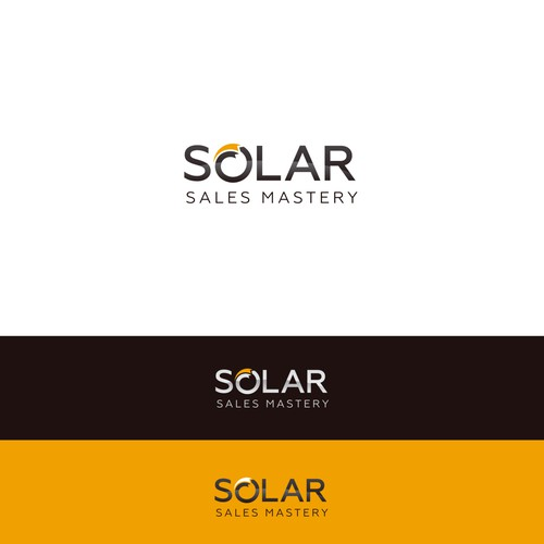 Logo for solar company