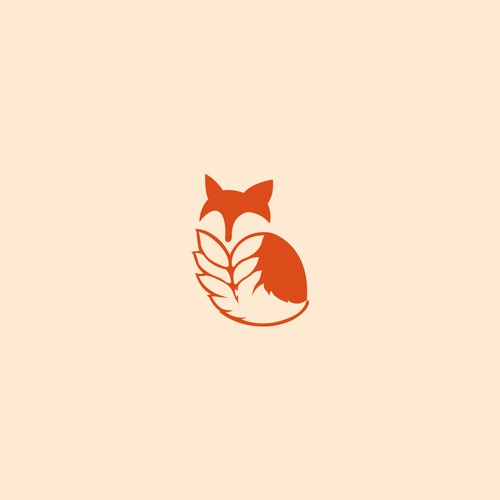 Simple fox icon