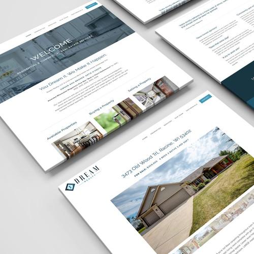 Web Design/Development for a Realty Company