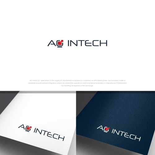 Creative logo concept for AG Intech