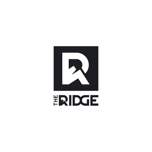 logo concept for THE RIDGE