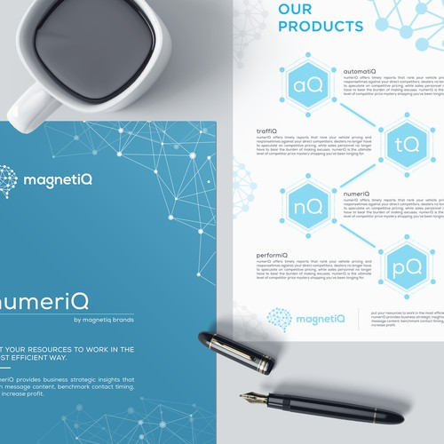 magnetiQ brochure design