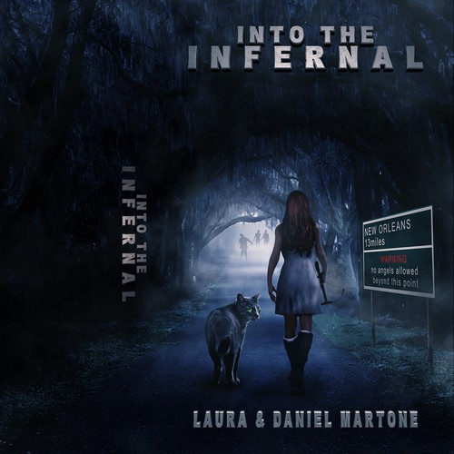 Book Cover Into The Infernal (Finalist)